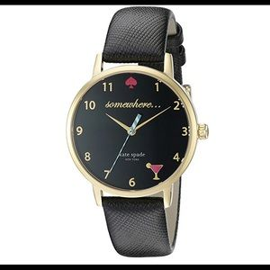 Black & Gold watch from Kate Spade New York.
